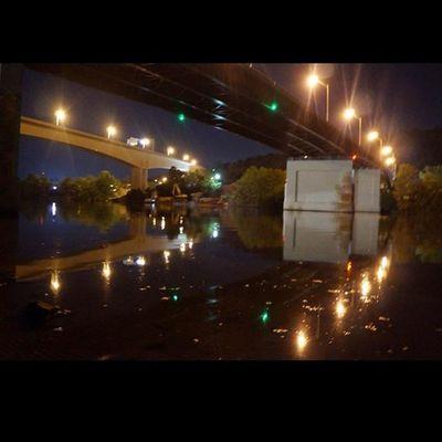 Nighttime Nightphotography Bridges_aroundtheworld Icu_usa pocket_nights inspiring_photography_admired jj_unitedstates total_night reflection_shotz bns_reflection igers_of_wv wv_igers westvirginia