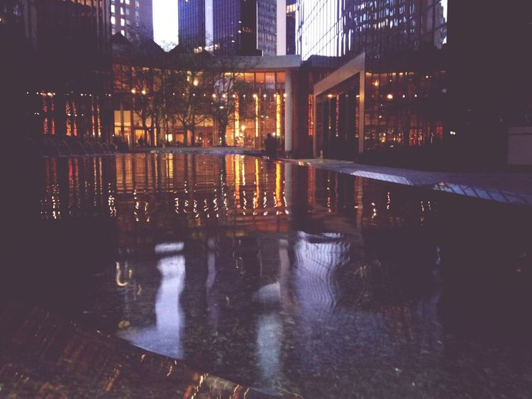 Charlotte, NC Architecture Water I Love My City
