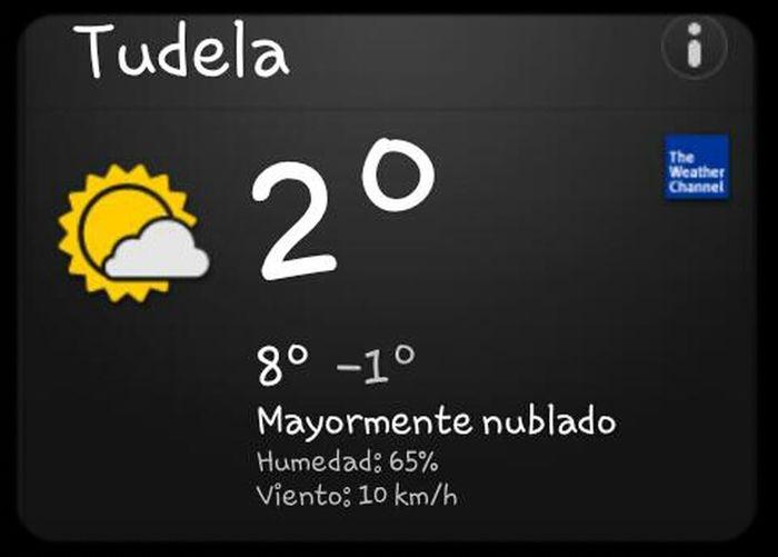 Hoy Parece Que No Llovera Y Que Superamos Los 0°C ..UEEE !!