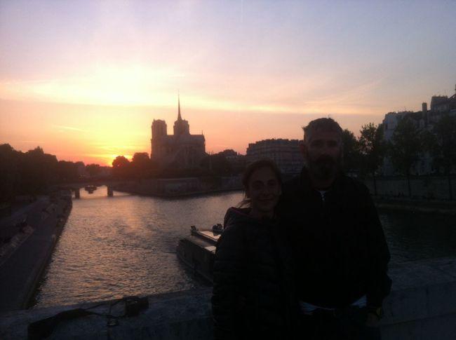 Je Sunset Paris Enjoying Life Hello World T'aime París ❤️??