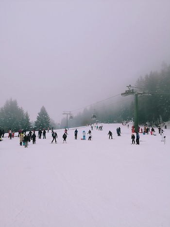 People skiing Smartphonephotography Huawei Huawei Mate 10 Pro Skiing Ski White Ponte Di Legno Piemonte Panorama POV Snow Snowing Cloud - Sky Cloud Human Snow Winter Cold Temperature Frozen Winter Sport Vacations Large Group Of People Outdoors Snowing Polar Climate Nature Tree Sky People Day
