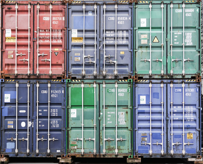 container Container Industry No People Box Cargo Container Large Group Of Objects Full Frame Freight Transportation Commercial Dock Day Business Stack Metal Architecture Communication Water Shipping  Technology Outdoors Pier Backgrounds