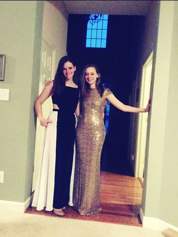 Prom Sister Sisters Enjoying Life Gowns Beautiful Gowns Rent The Runway Runway Fashion BCBG