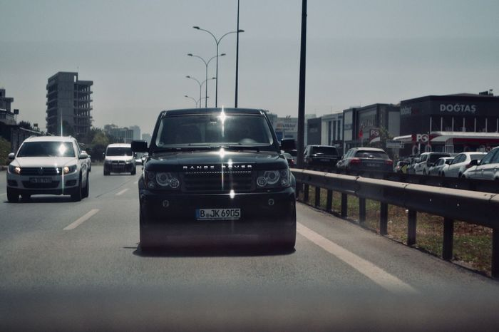 Car Transportation Architecture Built Structure Building Exterior Land Vehicle Road City Mode Of Transport Outdoors Sky No People Day Landrover  Rangeroversport Rangerover Istanbul