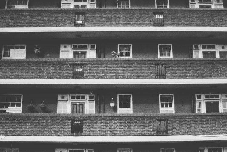 Social housing full frame