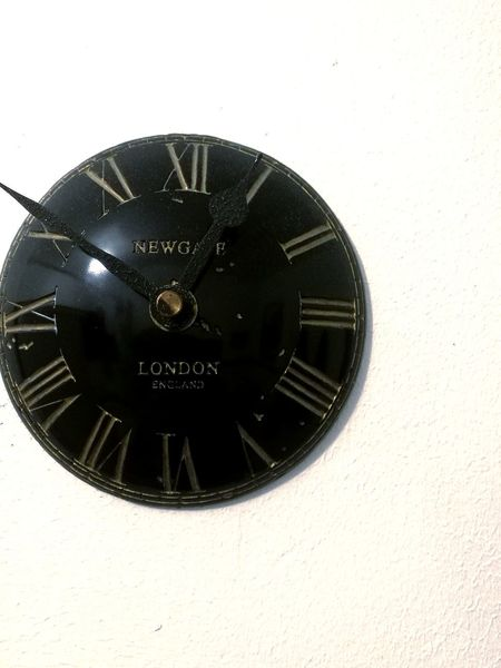 Old-fashioned Black Color Indoors  No People Architecture Close-up Day Roman Numeral Minute Hand Clock Clock Face