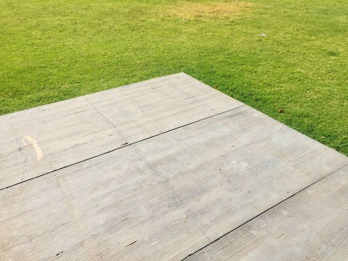 Grass Green Color Plant Wood - Material High Angle View Day No People Growth Field Outdoors Footpath Pattern Park Backgrounds Playing Field Green Landscape The Minimalist - 2019 EyeEm Awards