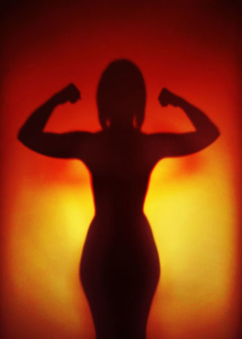 female empowerment Girl Power Girl Power Power Press For Progress Woman Arms Raised Concept Empowerment  Female Female Empowerment Feminism Flexing Muscles Gender Equality Girl People Shadow Silhouette Strength Strong Unrecognizable Women