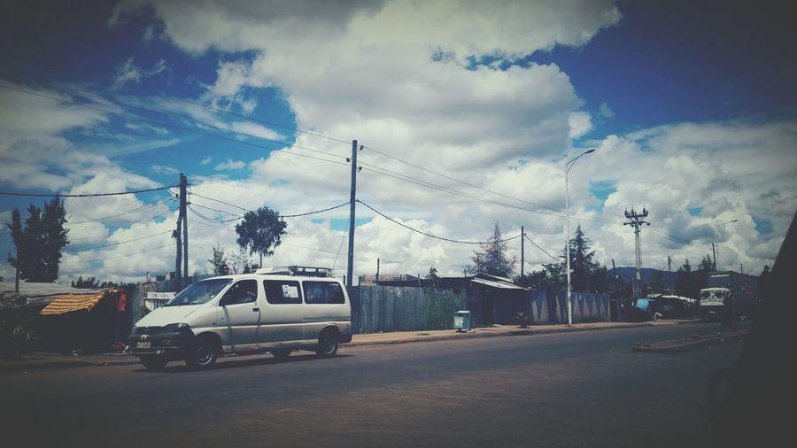 Addis  Cloud - Sky On The Way To Home