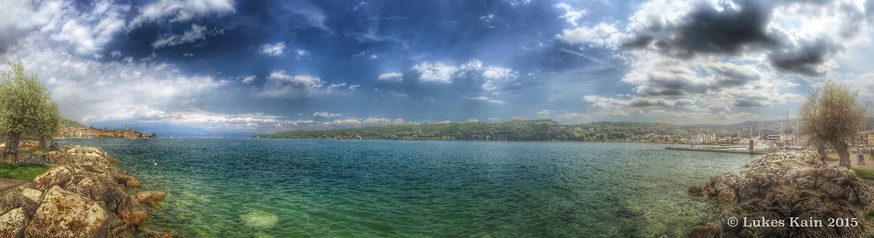 Lake view from Saló - Italy IPhoneography EyeEmBestPics EyeEm Best Shots EyeEm Best Edits IPhone Tadaa Community Panorama HDR Check This Out Landscape