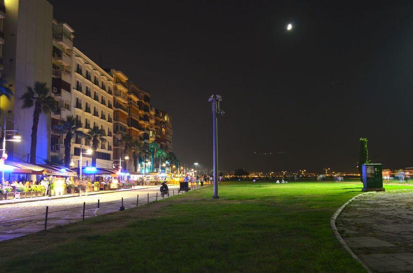 Kordon / İzmir Here Belongs To Me I Love My City Night View EyeEm Best Shots Nightphotography Night Lights City Lights All The Neon Lights Turkey Izmir Darkness And Light Izmir Kordon Alsancak Kordon My Best Photo 2015