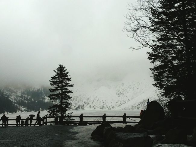 Morskie Oko - Poland Early Spring Beauty In Nature Mountains Lake View Landscape Tourists Scenics Fresh On Eyeem  Landscapes
