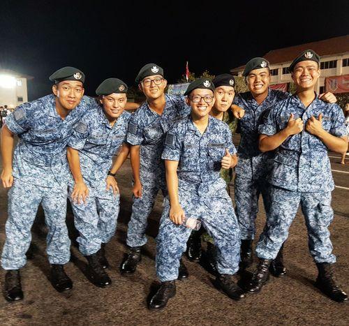 Singapore Graduation Basic Military Training My Son Airforce Sembawang Camp Singapore Army