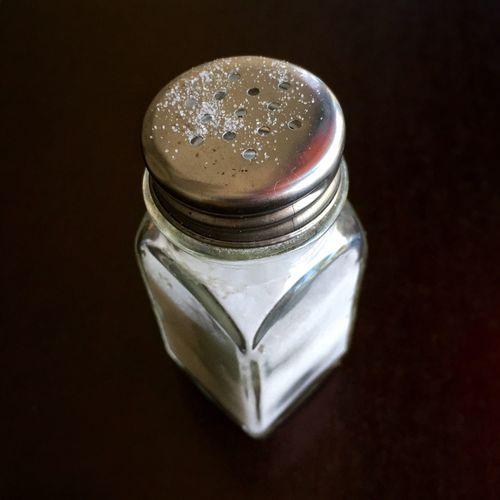 Fine Art Photography Grains of salt. Salt Shaker Saltshaker Close-up Studio Shot Object Still Life Extreme Close-up Grain Detail Condiment Salty Taste
