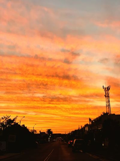 Onfire Sunset
