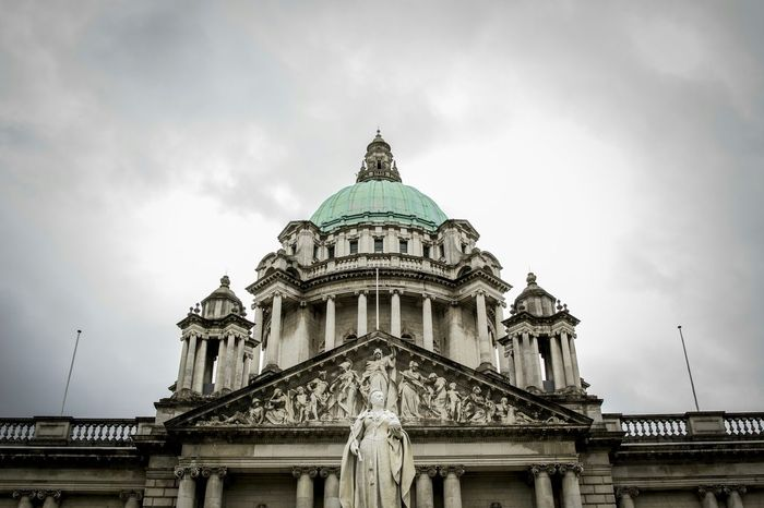 Belfast City Hall. Belfast Discover Northern Ireland Architecture Old Cloud Building