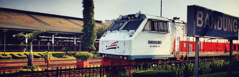 Arrived @Bandung INDONESIA Train Otomotive