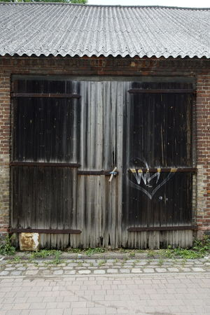Abandoned Architecture Barn Building Exterior Built Structure Closed Day Door House No People Outdoors Roof