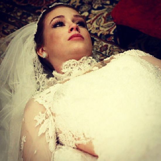 Nicole em: A noiva cadáver! Haha Humornegro