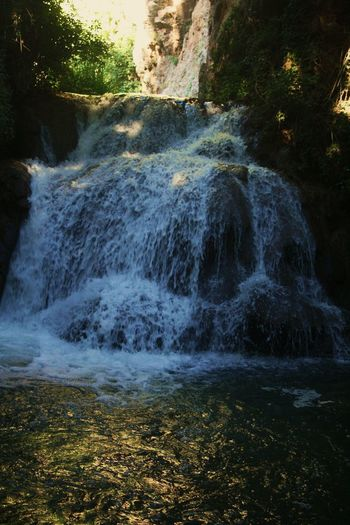 Beauty In Nature Day España Freshness Monastery De Piedra Motion Nature No People Outdoors Power In Nature Rock - Object Scenics Sky SPAIN Spooky Stream - Flowing Water Travel Destinations Tree Vacations Water Waterfall Zaragoza