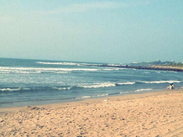 Enjoying The Sun Sea Life Is A Beach Couple