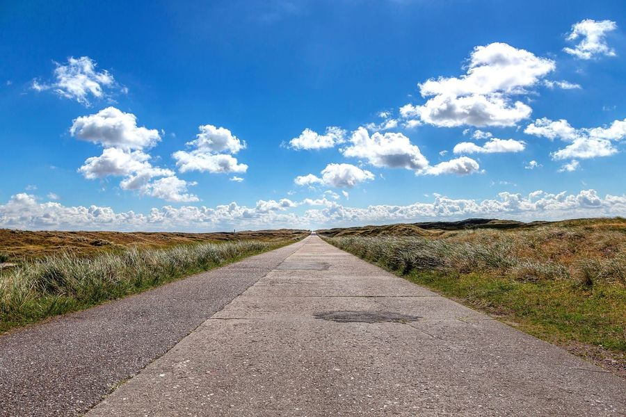 Road to Horizon Sky Cloud - Sky Nature Field Blue Tranquility Tranquil Scene Day No People Land Plant Beauty In Nature Scenics - Nature Landscape Agriculture Sunlight Rural Scene Environment Growth Outdoors The Great Outdoors - 2018 EyeEm Awards The Traveler - 2018 EyeEm Awards Road Direction The Way Forward Transportation Diminishing Perspective Nature Horizon vanishing point Summer Road Tripping