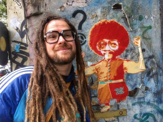 Berlin That's Me Rockin Cazal's Selfportrait