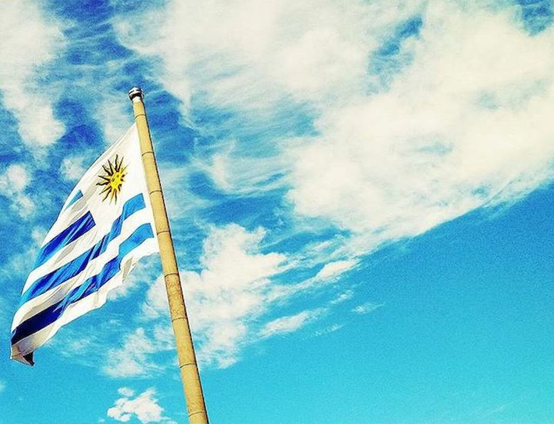 La mas linda 💙 Uruguay Celeste 💙 Clouds And Sky Clouds Sky Sky Blue Amor Futbol
