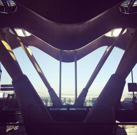 Architecture Built Structure Low Angle View No People Modern Architecture Futuristic Building Exterior Structure Lookingup Urban Airport Urban Geometry Architectural Feature Urbanphotography Building Outdoors Faces Of EyeEm