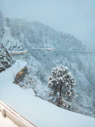 Snow Winter Cold Temperature Snowfall Wintertime Winter Morning India Vaishno Devi- The Legend Of The PowerfulMother Goddess