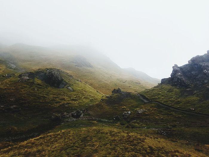Old Man of Storr Scotland IsleOfSkye Isle Of Skye Mountain Tourist Attraction  Destination Trekking Nature Naturephotography Mystery Mystical World Travel Destinations Travel Travel Photography Landscape Landscape Photography first eyeem photo