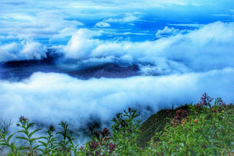 Nature Photography Nature_collection Bromo Mountain View From Above EyeEm Indonesia EyeEmIndonesiaKu EyeEm Best Shots EyeEmIndonesiaCommunity Clouds And Sky Travelensa