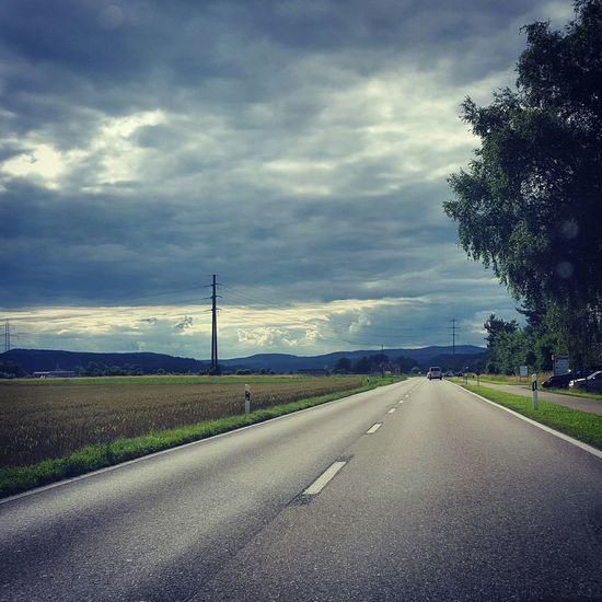 Ontheroad Clouds Sky Landscape