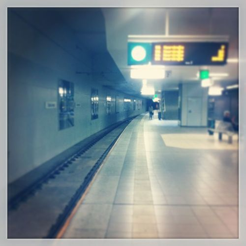 Schon wieder Grade weg... Doofer Tag Ubahn Ostbahnhof