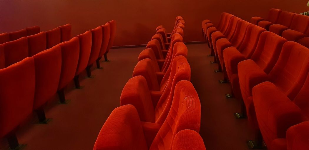 Cinema Red Curtain Red Seats Auditorium Seat Red Chair Ceremony