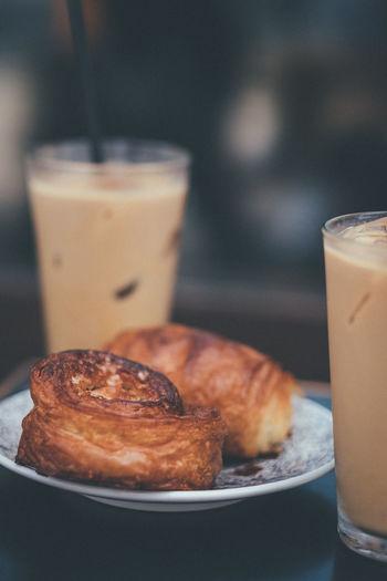 Closeup of a tokyo breakfast