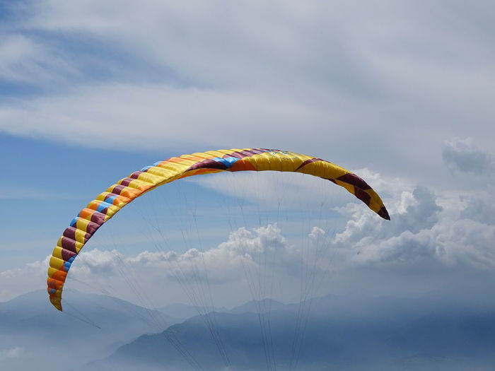 fallschirm Flying Mid-air Sky
