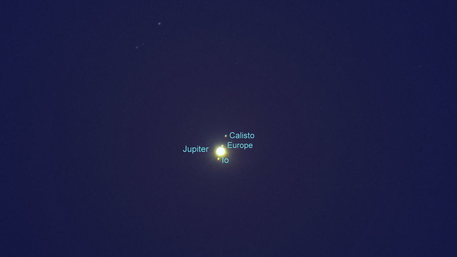 Astronomy Atmosphere Atmospheric Mood Clear Sky Copy Space Dark Glowing Jupiter's Moons Low Angle View Majestic Moons Mystery Night Miami Platja -Tarragona