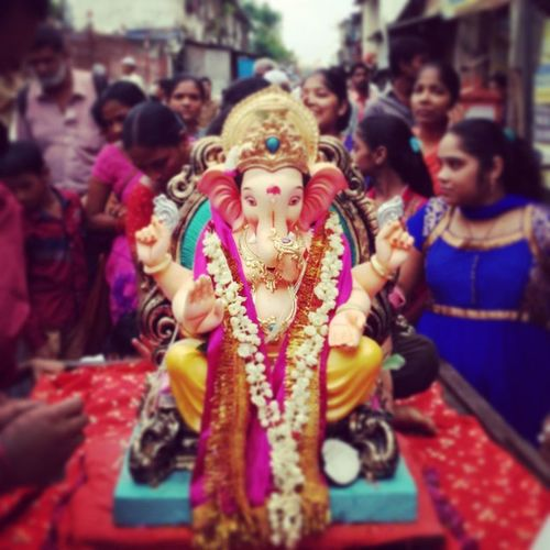 Ganpati Visarjan Last Day Anant Chaturdashi Ganpati Bappa Morya Pudhchya Varshi Lavkar ya