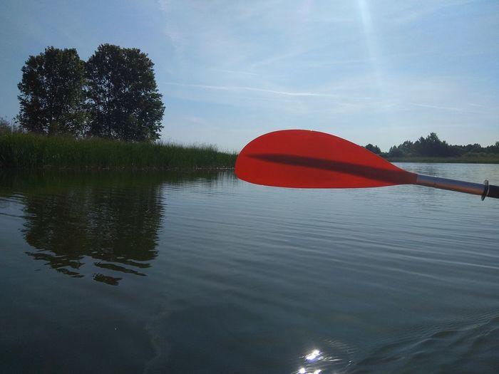 Water Kayak Red