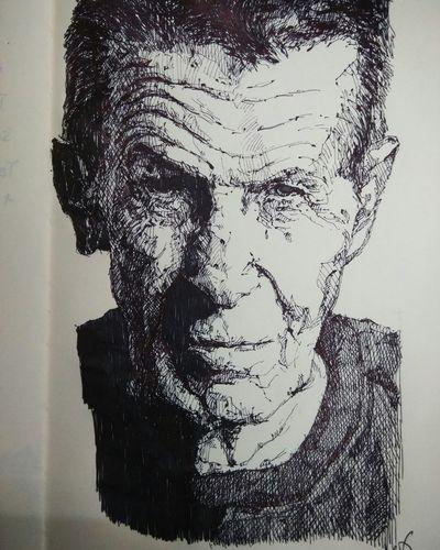 I draw. Live long and prosper.Drawing Sketch Sketchbook Moleskine Portrait Startrek Lineart Art Leonardnimoy