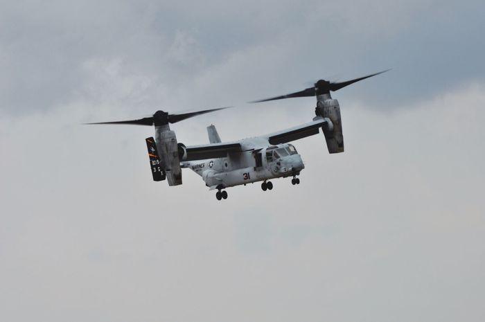 Osprey  V22 Airplane Airshow Flying