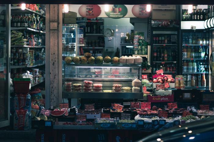 Late Night shopping in Berlin Berlin Mitte Discover Berlin Large Group Of Objects Späti Shopping Time Night Nightphotography The Week On EyeEm EyeEm Best Shots My Fuckin Berlin VSCO Olympus Twodaysberlin