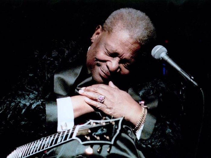 """I remember the first time I fell in love with the blues... I was 13 years old when I was introduced to the finest live blues record of all time, B.B. King's 'Live at the Regal'. It was pure magic. He said more with one note, than most musicians do in a lifetime. In that moment, I fell in love & I never fell out of love with the blues... Mr. King, I feel blessed to have known you & your music in this lifetime. Thank you for your kindness. Thank you for the music. You will be missed immensely. All of my respect, gratitude and Love... Magnolia~* (photo by unknown) B.B. King Riley B. King The Blues Tadaa Community Music In Memory The Thrill Is Gone. My Musical Inspiration"