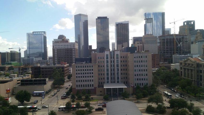 My view of Downtown Houston Taking Photos Streamzoofamily Mobilephoto