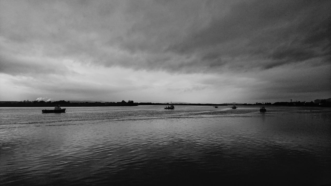 River Forth RiverForth Water Tranquility Reflection Boats Fishing Boats Nautical Vessel The Great Outdoors - 2016 EyeEm Awards Beauty In Nature Silhouette Scotland Neighborhood Map