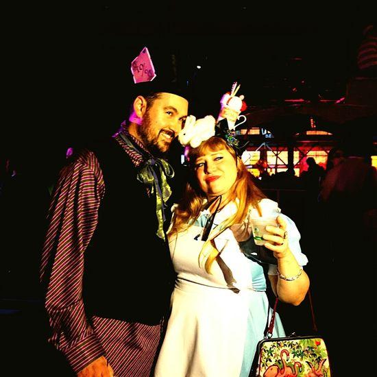 My very good friends were quite the pair Aliceinwonderland Madhatter Ghostship