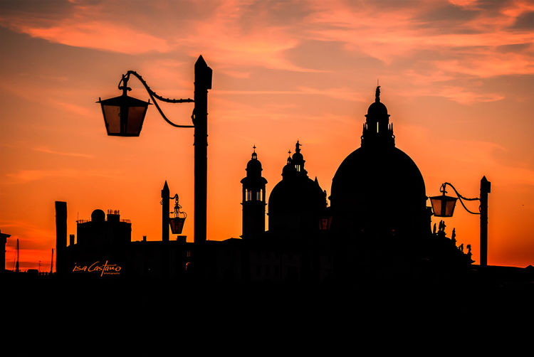 VENICE Venice, Italy Isa Castano Sunset Silhouettes City View