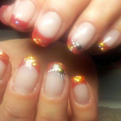 Nailselection Nails Naglar Nailo arvika gel nailart