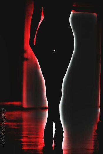 Silouhette Seduction Seductive Naughty Girl
